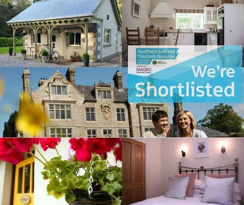 Award shortlisted northern ireland tourism fermanagh tyrone self catering accommodation apartments kid friendly pet friendly