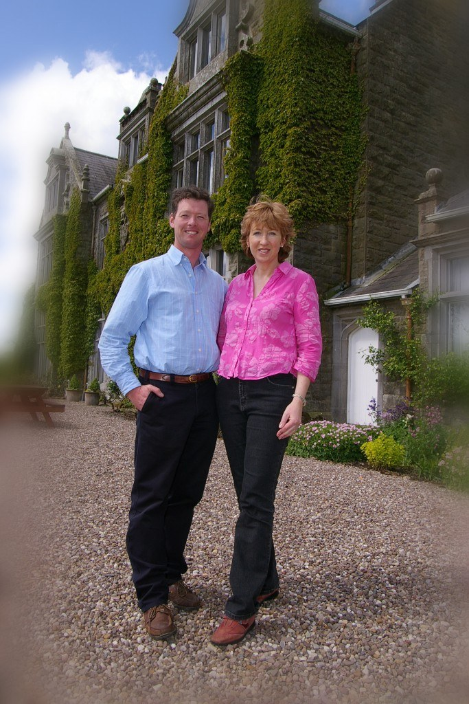 Nick and Colleen Lowry at Blessingbourne Estate county fermanagh tyrone northern ireland country house venue lakes pet friendly holiday homes northern ireland