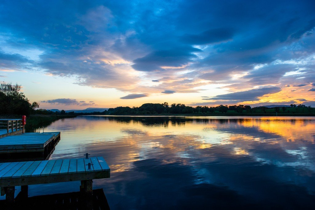 Fermanagh Lakes lakelands blessingbourne sunset jetty jetties things to do things to see county fermanagh tyrone family friendly activities activity