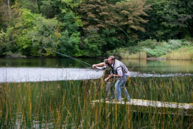 fishing county fermangh county tyrone perch pike roach breen adventure exciting break Northern Ireland country estate historic outdoor activity family fun escape