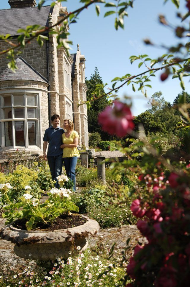 walk walking trails flowers floral gardens garden scheme ulster county fermanagh county tyrone couple romantic adventure exciting break Northern Ireland country estate historic outdoor activity