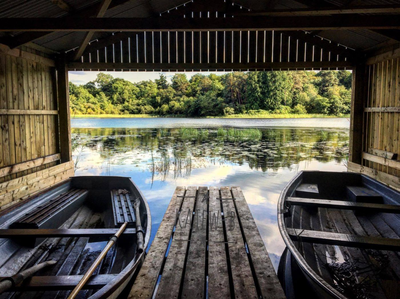 boating private lough lake countryside experience northern Ireland