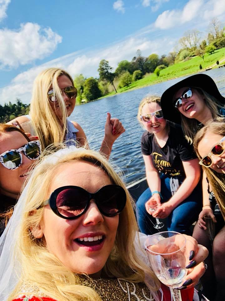 Boating Private Lake Hen Do sun spring summer