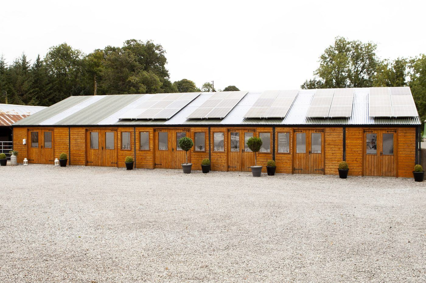 Long Barn Wedding Reception Venue at Blessingbourne Estate for Wedding Party's or events