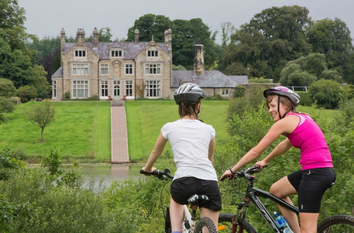Mountain Biking Adventure Style Hen Party celebrations at Blessingbourne