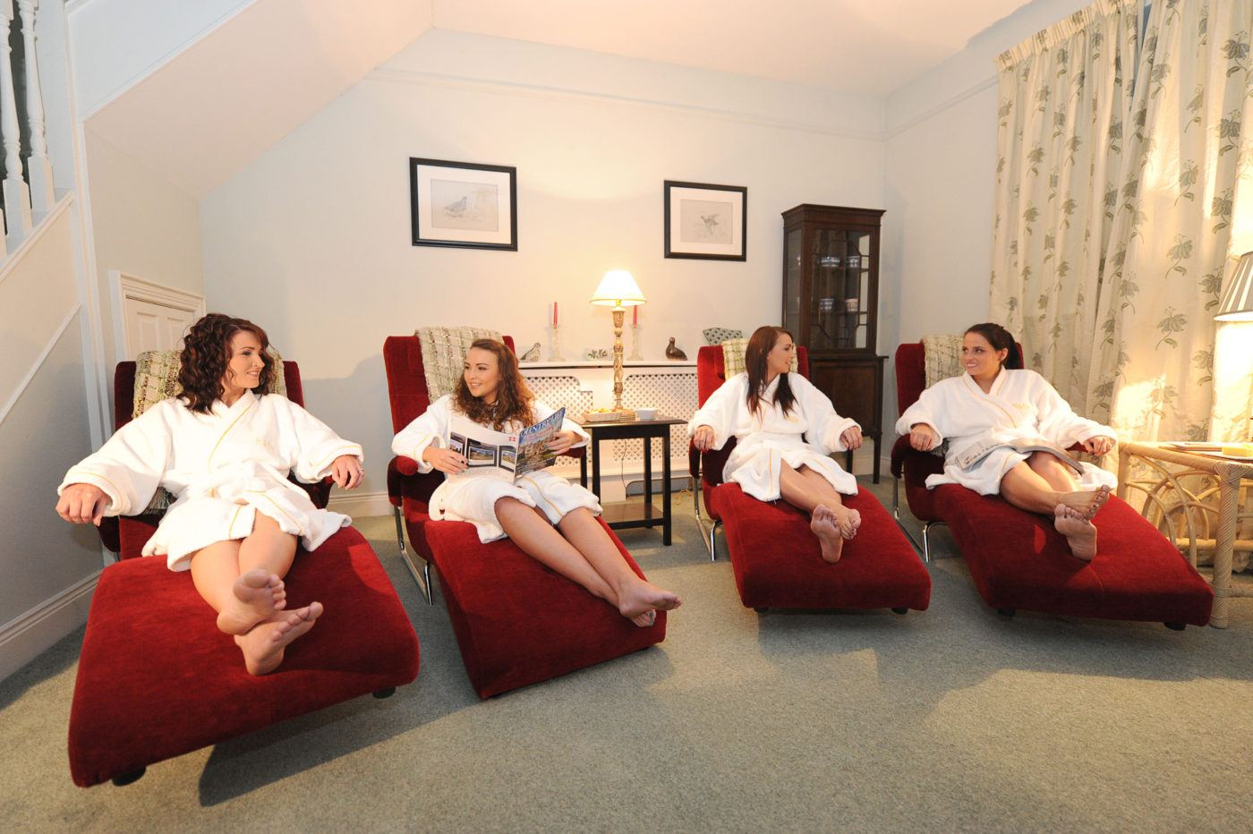 Spa escape hen party idea